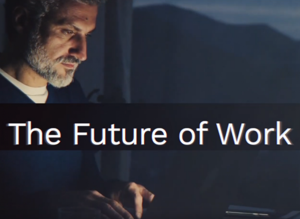 Future of work - Man and machine